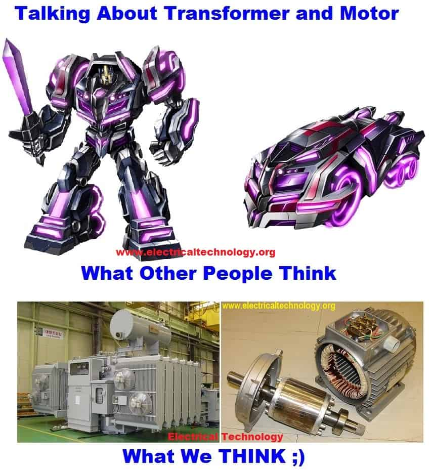 medium resolution of funny electric motor and trasnsformer