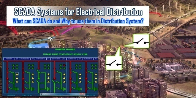 SCADA Systems for Electrical Distribution