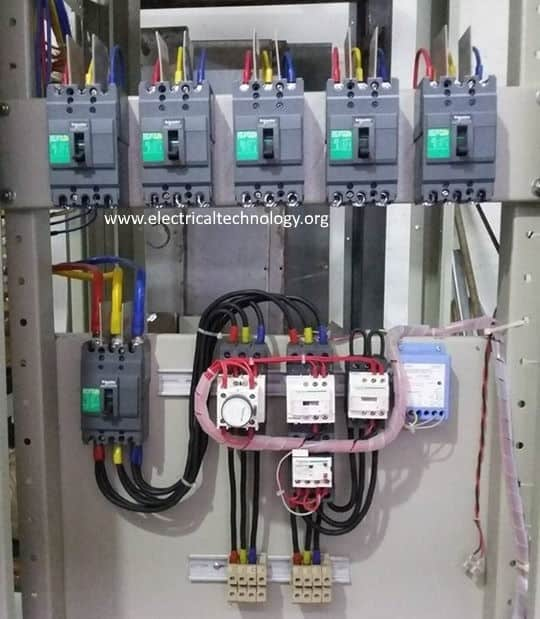 electrical control panel wiring diagram pv power distribution in industries all you need to know lt with 22 kw ster delta stated one set