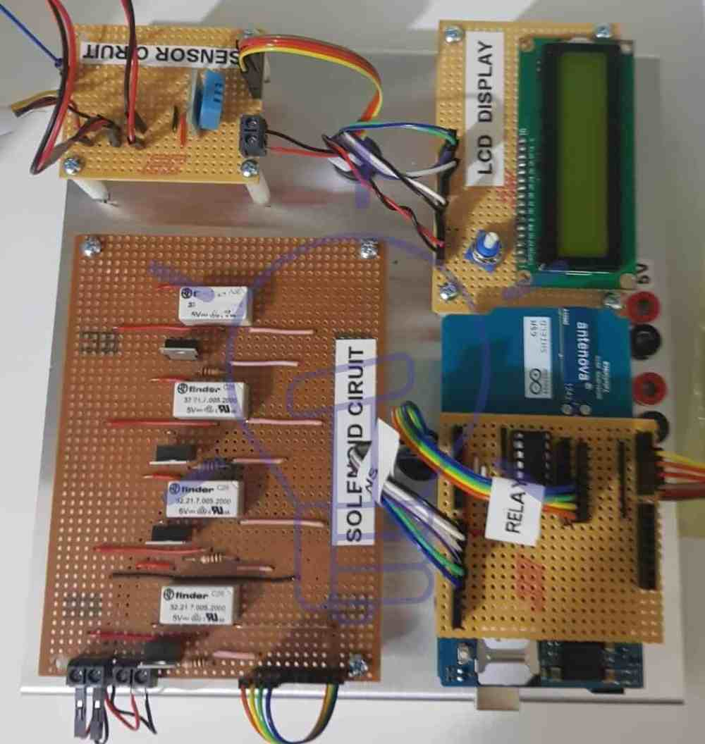 medium resolution of automatic plant watering irrigation system final circuit