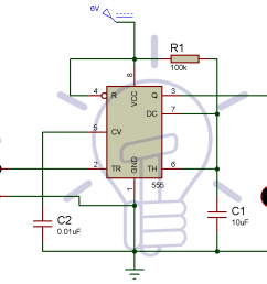 simple touch sensitive switch circuit using 555 timer bc547 transistor circuit diagram for touch switch [ 1148 x 930 Pixel ]