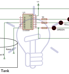 water level indicator circuit diagram using bc547 and uln 2003 ic water level indicator circuit schematic circuit diagram and [ 1968 x 1272 Pixel ]