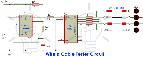 small resolution of cable and wire tester circuit diagram multi electronic tester cable wiring project diagram