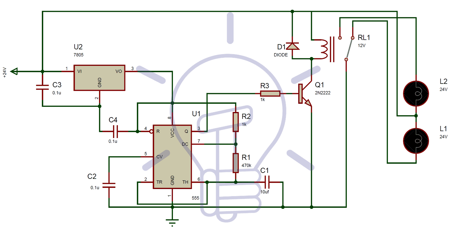 Simple Transistor Tester Circuit Also 555 Timer Led Flasher Circuit