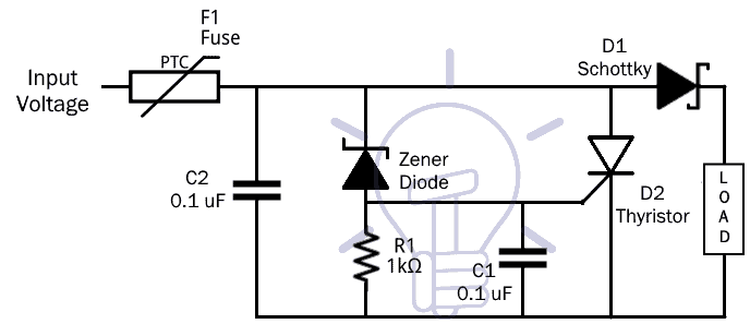 What is Crowbar Circuit ? Design and Operation