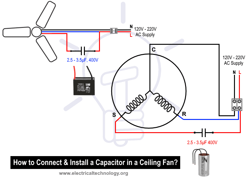 Internal Wiring Diagram Of Ceiling Fan