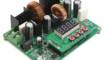 DROK Constant Current Boost Voltage Regulator Module DC 10