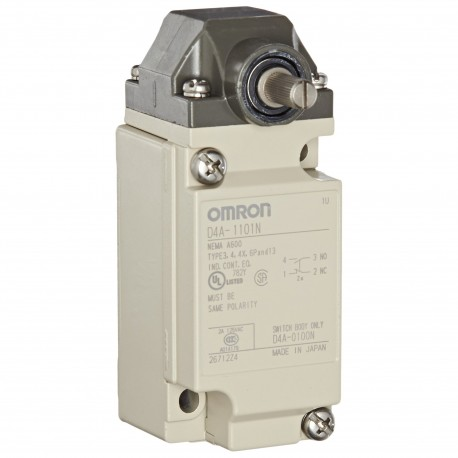 D4A-1101N 142473 OMRON Industrial Career Final / Switches,..