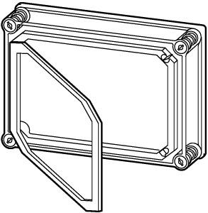 D150-CI44/T 086714 0002502317 EATON ELECTRIC Covers, +door..