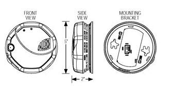 BRK Electronics First Alert SC7010BV 120V AC/DC Hardwired