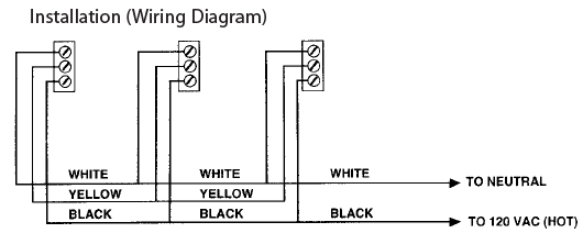 hard wired smoke detectors diagram pioneer avh x4800bs wiring firex 484 photoelectric alarm detector 120v ac direct wire