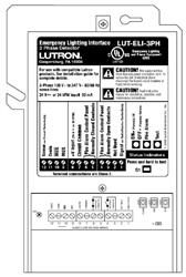 Lutron LUT-ELI-3PH Grafik Eye 3000 Emergency Lighting