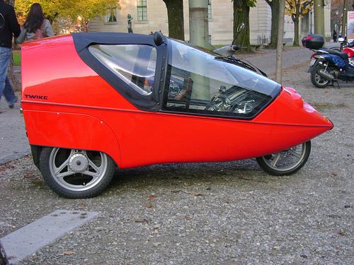 Adult Pedal Car: Twike Electric Bike / Pedal Car Defined