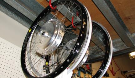 9C motors with clear coat finish