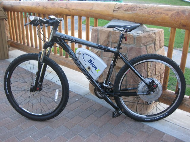 bionx hard tail mountain bike