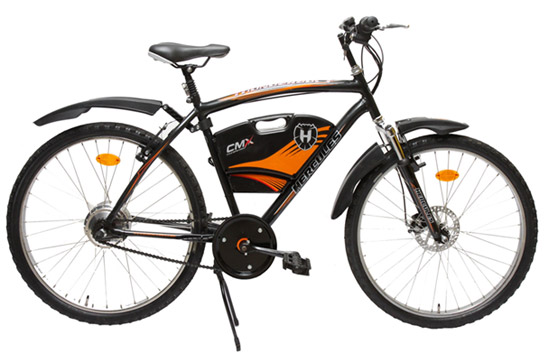 This may just be a mild-assist E-bike, but this central battery case is the type of thing I'm talking about.