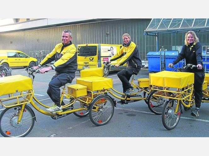 Not every employee of DHL would want to do this, but the ones who do...will stay very healthy and strong!