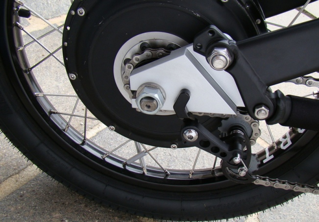 The most powerful hub motor for electric bikes, the Cromotor