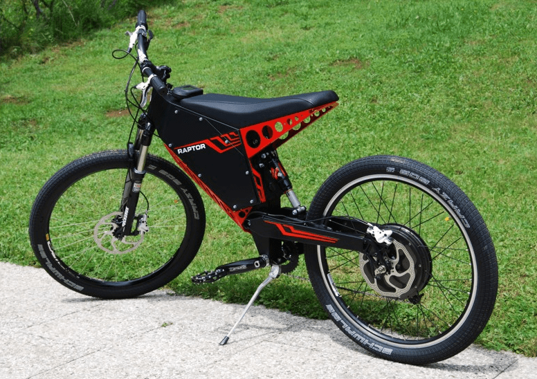 The Qulbix Raptor Is A Hot Rod Offroad Electric Bike