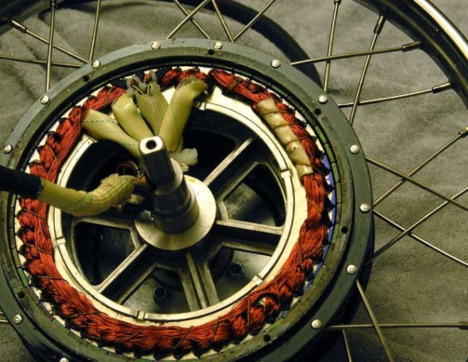 Motorized Bicycle Wiring