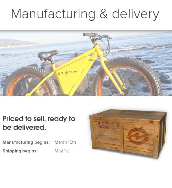 manufacturing and delivery