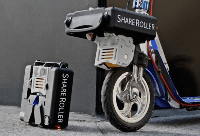 The Shareroller Onemotor Is A Great Friction Drive