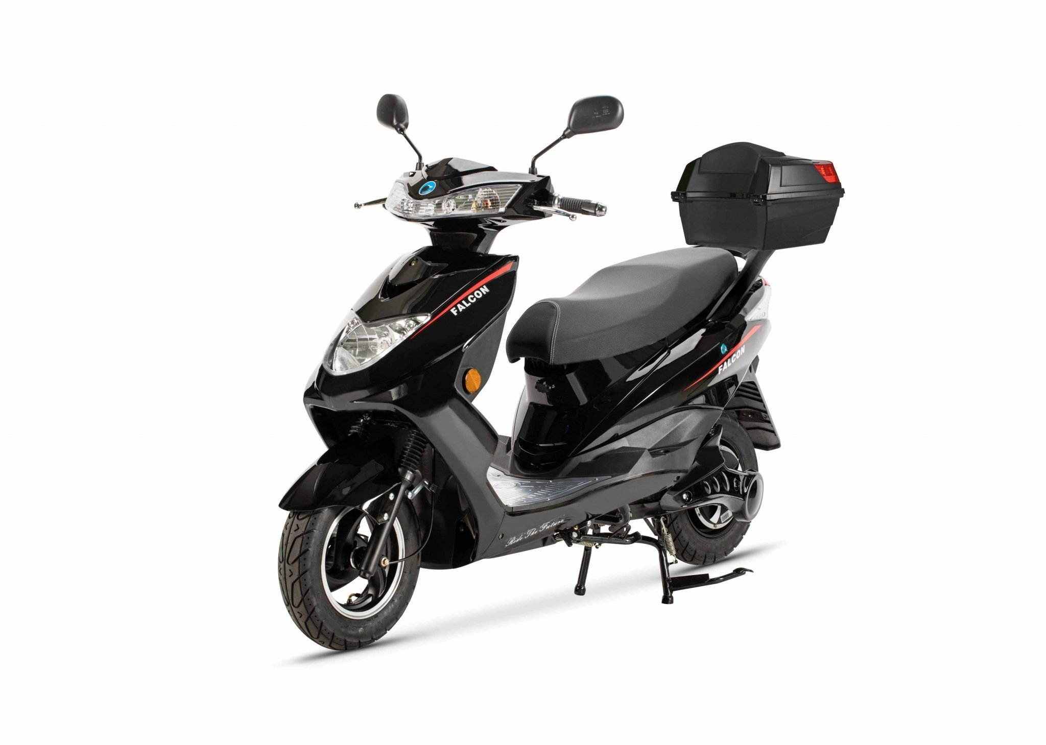 FALCON ELECTRIC MOPED – BLACK