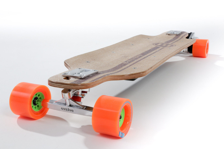 Evolve Bamboo 2 In 1 Electric Skateboard Electric