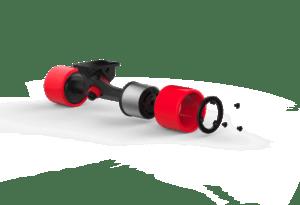 Inboard M1 hub motors