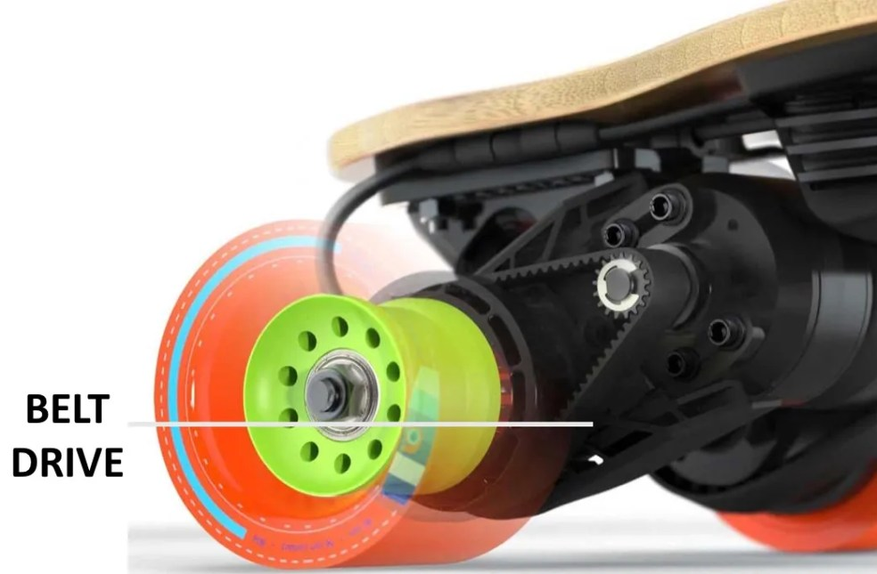 Boosted Board Electric Skateboard Belt Drive