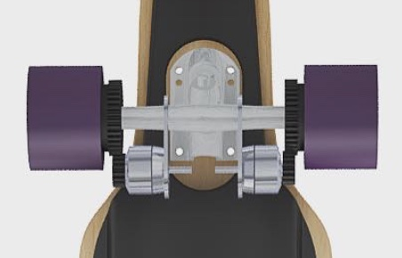 Jed Electric Skateboard Gears