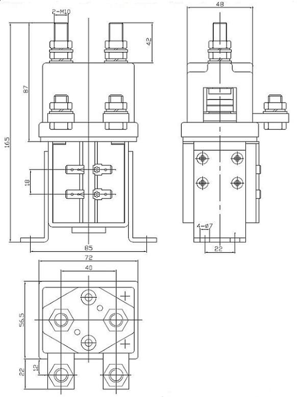 400A 12,000W, 12kW 12V-1000A, 24V-500A, 48V-250A 12V, 24V