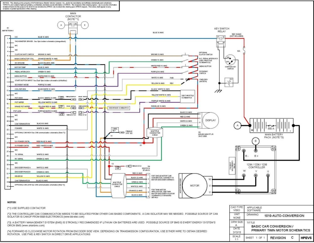 medium resolution of ev conversion schematic auto electrical wiring diagrams