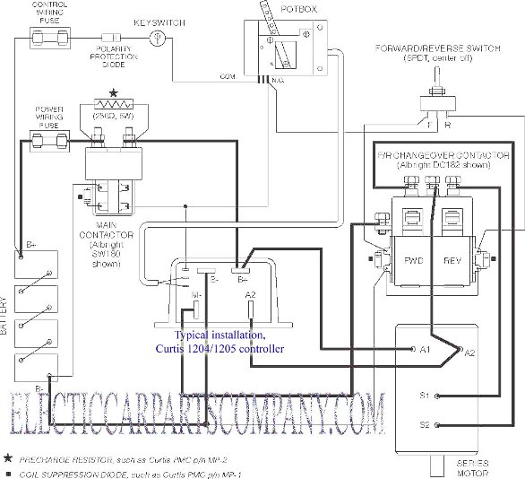 ezgo battery wiring diagram mobile home additions ev conversion schematic