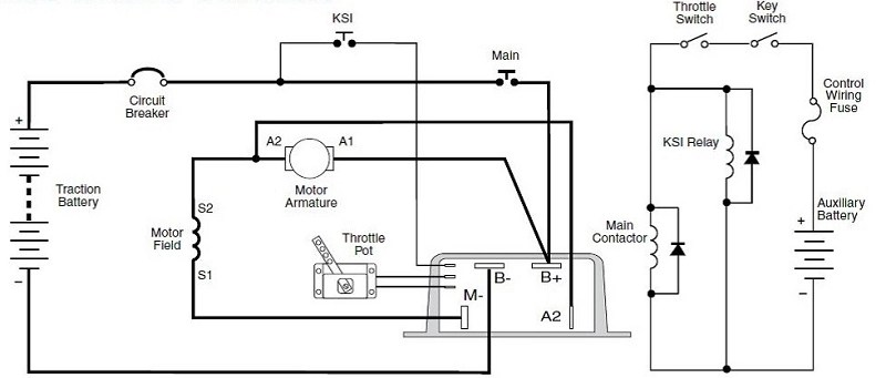 wiring diagram motor control two way light switch 1231c 8601 500a 96 144v ev dc controller