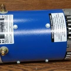 24v Alternator Wiring Diagram Outlet To Light Switch D&d Es-15-6 48v, 72v Dc 62 Lbs - Ev Motor