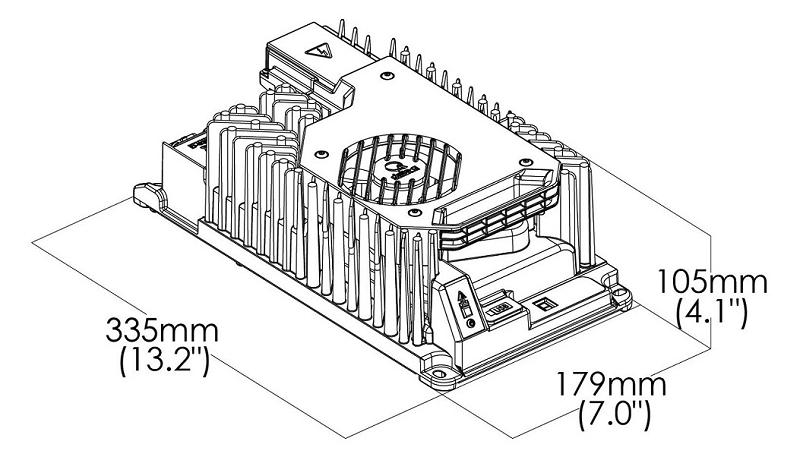 Lithium Lead-Acid Battery Charger 1.2 kW 24V 36V 48V On