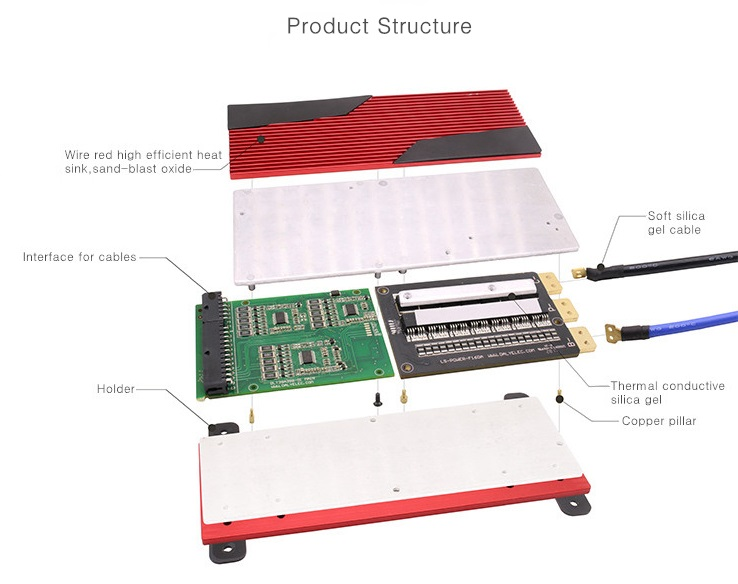 4s bms wiring diagram fluorescent tube battery management system 12v 10a 200a electric car parts ev