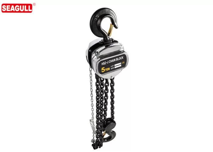 Heavy Duty Long Lift Manual Chain Block Hand Chain Hoist 5