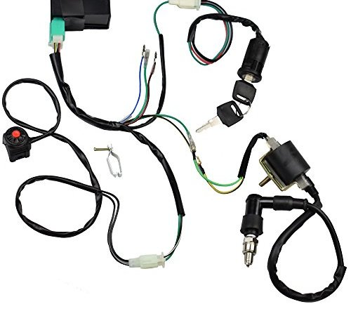 Minireen Wire Harness Wiring Loom CDI Ignition Coil Spark ... on