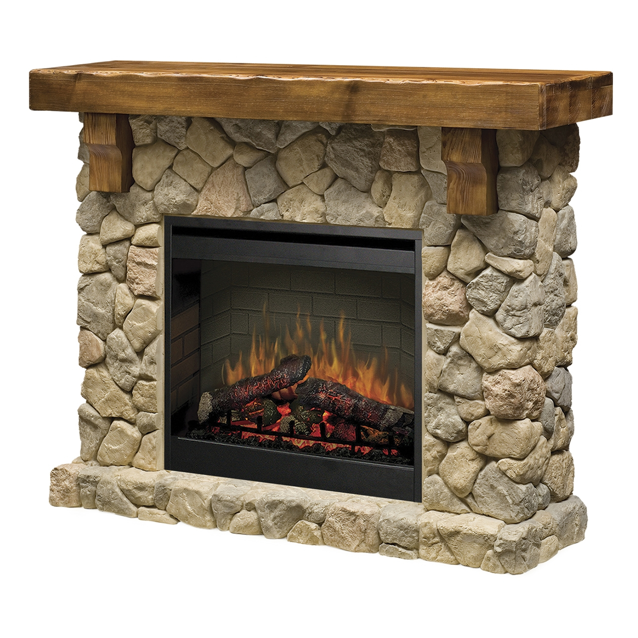 Dimplex Fieldstone SMP904ST Electric Fireplace Wall Mantel  ADDCO Electric Fireplaces