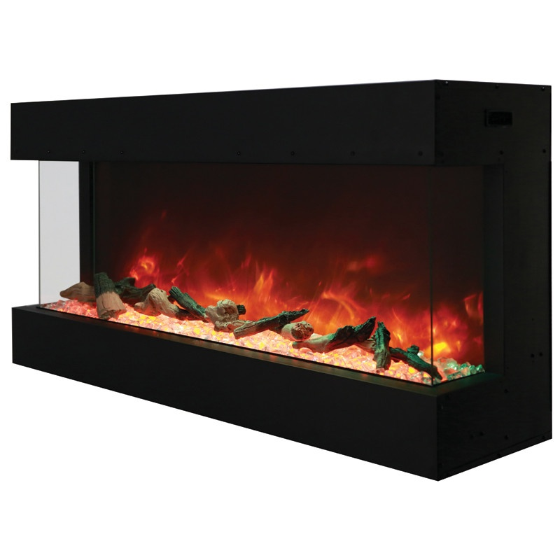 Amantii 50 50TRUVIEWXL 3Sided Indoor or Outdoor Electric Fireplace  Electric Fireplaces