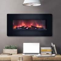 Wall Mount Electric Fireplaces | Linear, Hanging & Mounted ...