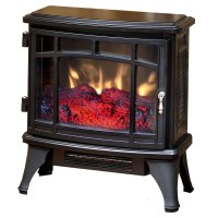 Duraflame 8511 Black Infrared Electric Fireplace Stove ...