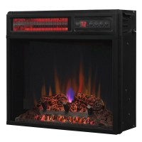 ClassicFlame 18-In SpectraFire Infrared Electric Fireplace ...