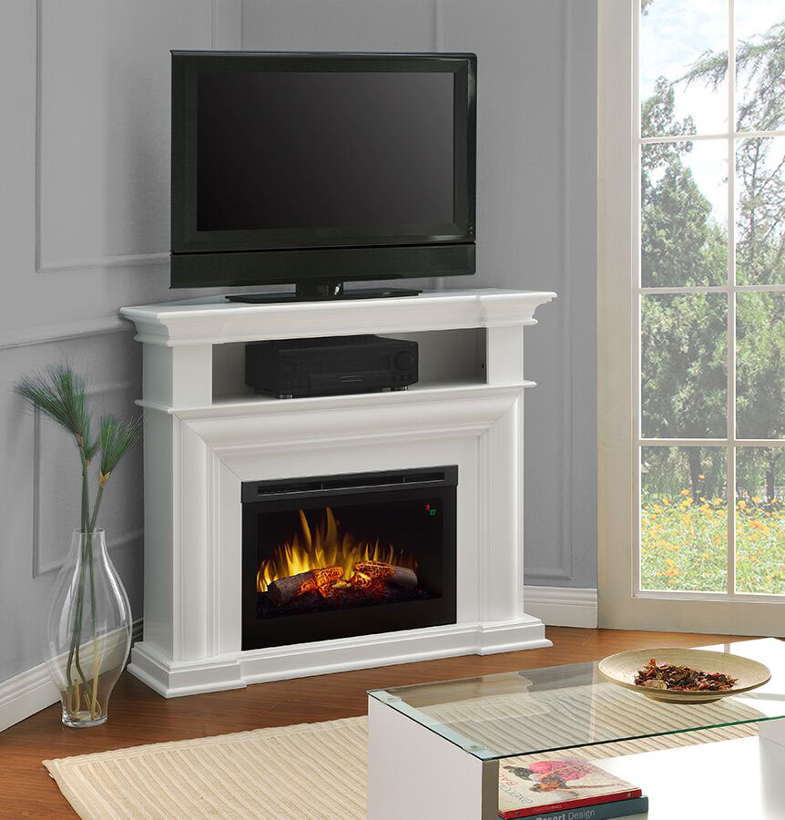 Colleen White Electric Fireplace  DFP25L51537W  Dimplex