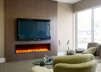 """Dynasty 63"""" Built-In Electric Fireplace 