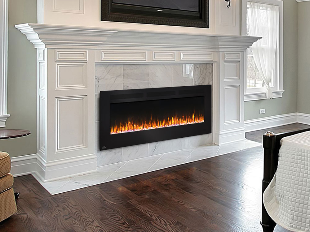 """Napoleon 60"""" Allure Wall Mount Electric Fireplace"""