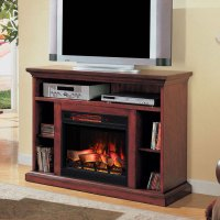 "Beverly 23"" Premium Cherry Media Console Electric ..."