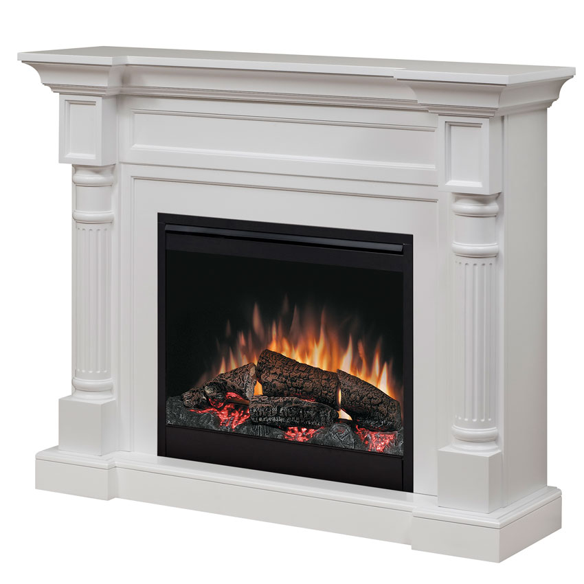 fireplace design White electric Fireplaces Clearance